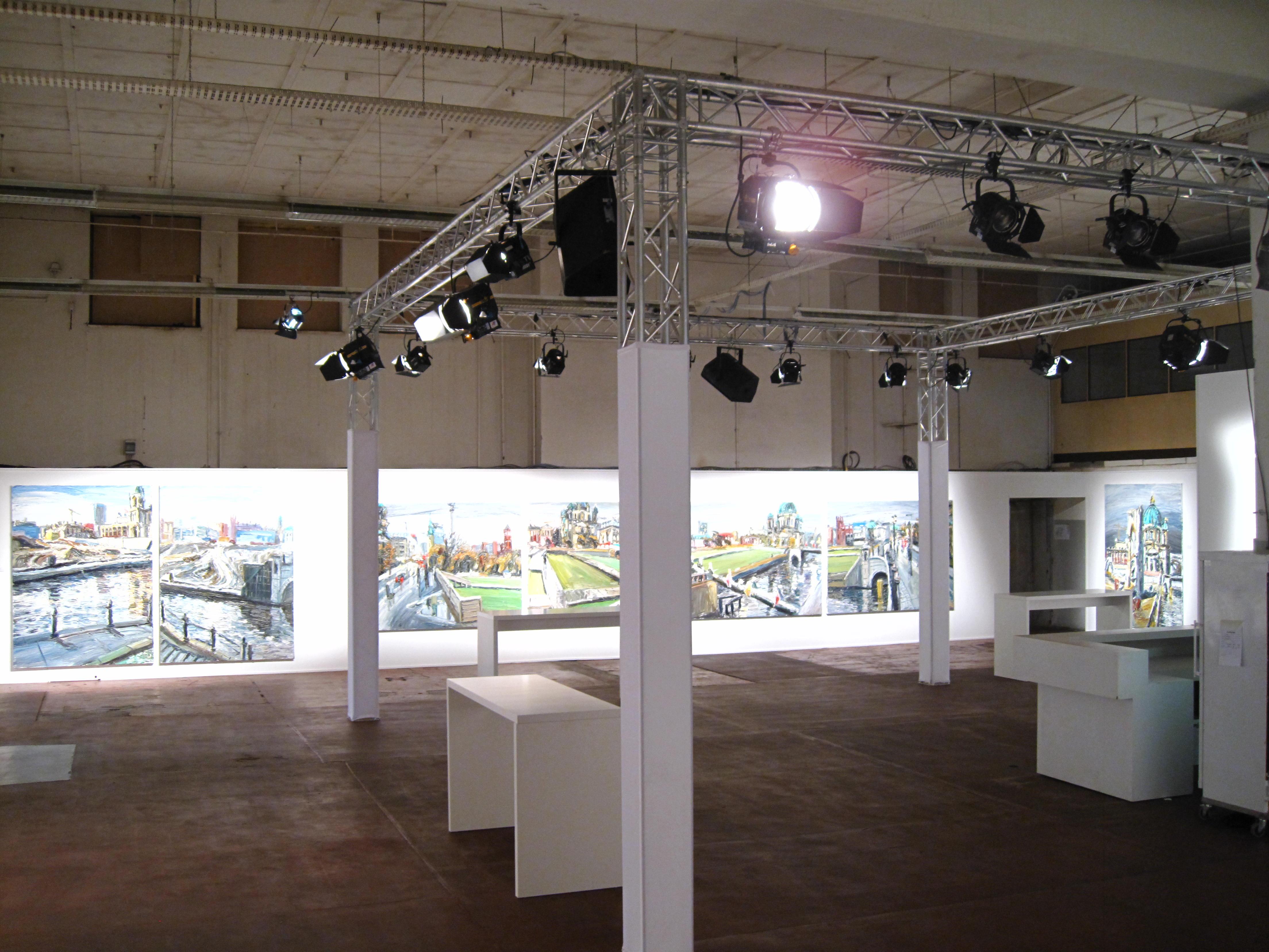 Ausstellung Christoper Lempfuhl Alte Münze Berlin 2010 Artribute